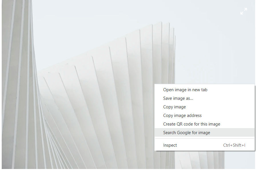 Reverse image search computer